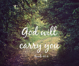 god, bible, and carry image