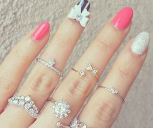 nails, fashion, and beautiful image