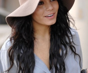 hat, style, and vanessa hudgens image