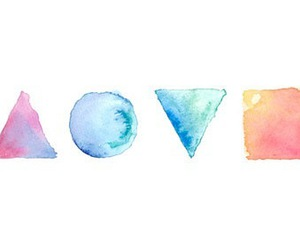 love, colors, and shape image