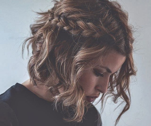braid, girl, and pretty image