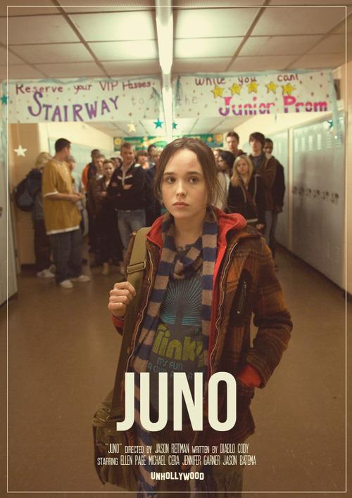 ellen page, juno, and movie image