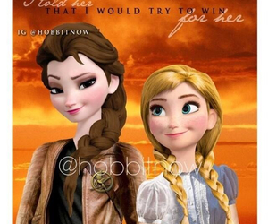 frozen, prim, and katniss image