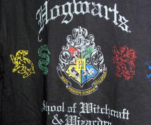 black, gryffindor, and hogwarts image