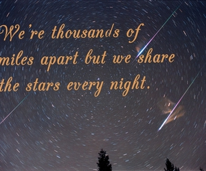 stars, typography, and love image