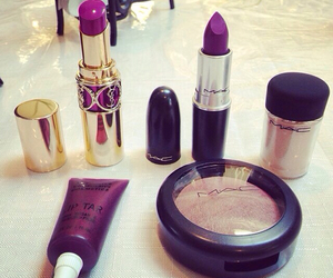 designer, lipstick, and make up image
