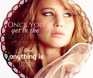 belief, Jennifer Lawrence, and quotes image