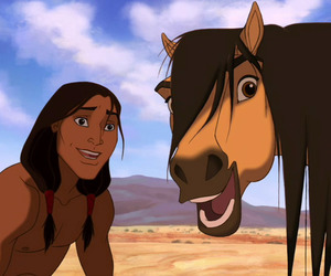 dreamworks, horse, and spirit image