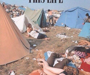 life, festival, and hippie image