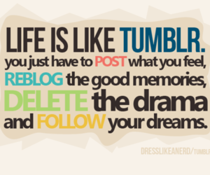 text and tumblr image