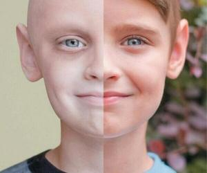 cancer, boy, and survivor image