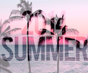 beach, summer, and 2k14 image