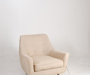 beige, chair, and midcentury modern image
