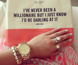 millionaire, bag, and darling image