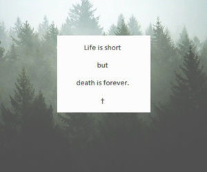 quote, death, and life image