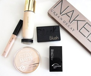 blush, fashion, and Maybelline image