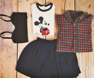 clothes, flannel, and crop image