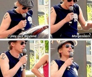 jace, Jamie Campbell Bower, and wayland image