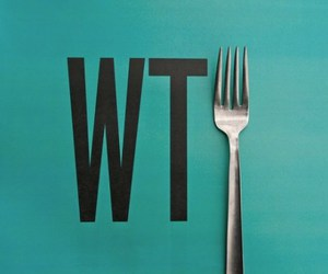 wtf, fork, and funny image