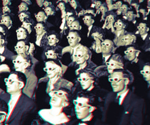 3d and people image