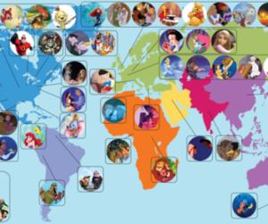 disney, princess, and world image