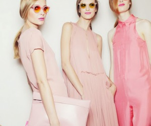 fashion, pink, and cacharel image