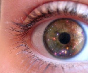 cosmos and eye image