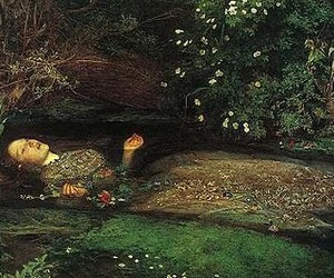 ophelia, art, and painting image