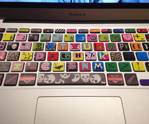 keyboard, cool, and hipster image