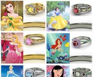 disney, princess, and rings image