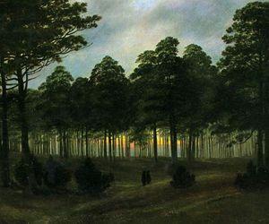 painting, beautiful, and caspar david friedrich image