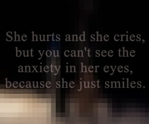 smile, cry, and hurt image