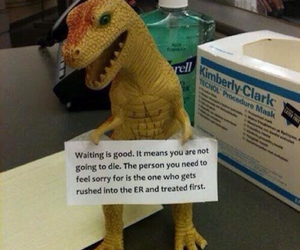 funny, t-rex, and quotes image