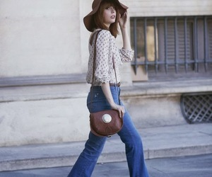 vintage bell bottoms and 70's flares image