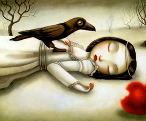 snow white, Benjamin Lacombe, and illustration image
