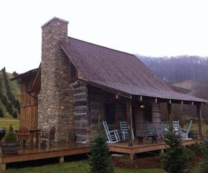 cabin, cozy, and home image