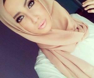 beauty, eyes, and muslima image