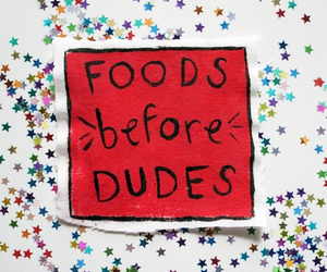 food, dude, and quotes image