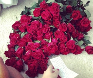 flowers, roses, and romantic image