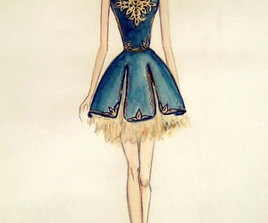armenia, blue dress, and crown image