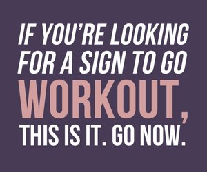 workout, quotes, and fitness image