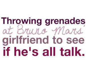 Grenade, bruno mars, and love image