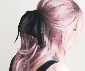 adorable, black bow, and fashion image
