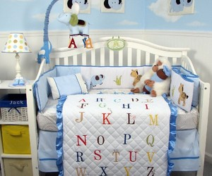 baby bedding music theme, black wooden baby bedding, and colorful bedding design image