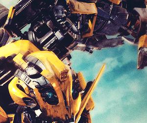autobots, bumblebee, and nerd image