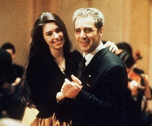 al pacino, Sofia Coppola, and vintage image
