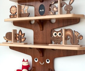 owl, wood, and cute image