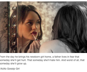 blair waldorf, daughters, and fathers image