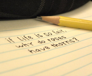 life, Paper, and quote image