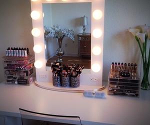 makeup, vanity, and mirror image